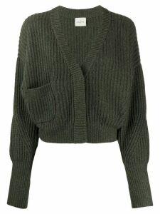 Le Kasha Monaco cropped cashmere cardigan - Green