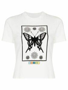 Maisie Wilen Mona Lisa cotton T-shirt - White