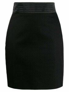Just Cavalli high-waist skirt - Black