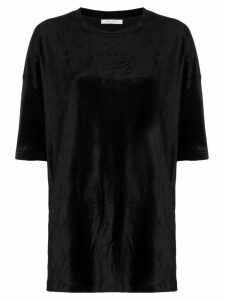 Ninety Percent crew-neck oversized T-shirt - Black