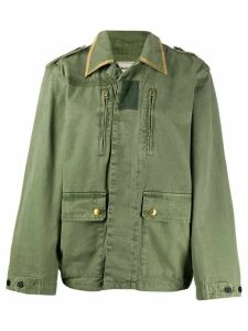 Zadig & Voltaire Kid military jacket - Green