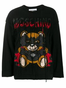 Moschino Bat Teddybear jumper - Black