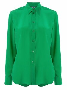 Ralph Lauren Collection silk pointed collar shirt - Green