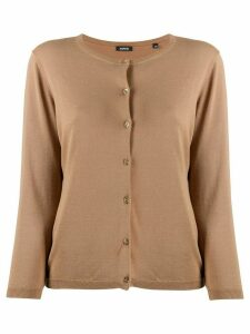 Aspesi round-neck cardigan - Brown