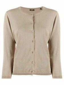 Aspesi round-neck cardigan - NEUTRALS