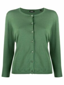 Aspesi round-neck cardigan - Green