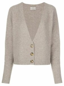 Co deep v-neck cardigan - NEUTRALS