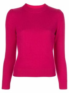 Co fitted round-neck jumper - PINK