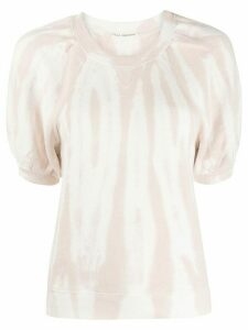 Ulla Johnson tie-dye short sleeve jumper - White
