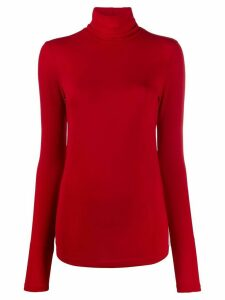 Isabel Marant turtleneck jersey top - Red