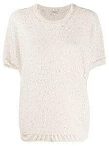 Peserico round neck sweater - NEUTRALS