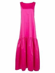 Co flared skirt maxi dress - PINK