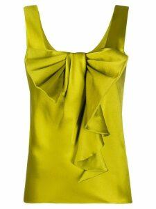 Alberta Ferretti bow-detail blouse - Green