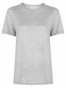 Co cashmere short sleeve top - Grey