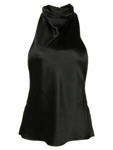 RtA halterneck sleeveless top - Black