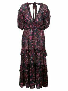 Ulla Johnson Amora floral print dress - Blue