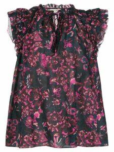 Ulla Johnson Rina floral print blouse - PINK