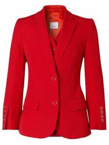 Burberry waistcoat panel tailored jacket