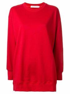 GOODIOUS Blah Blah oversized sweatshirt - Red