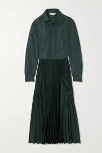 Prada - Two-tone Leather Platform Brogues - White