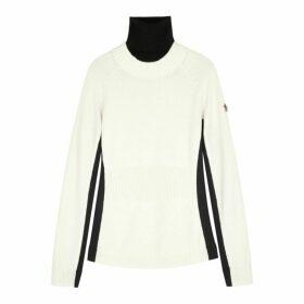 Moncler Monochrome Wool-blend Jumper