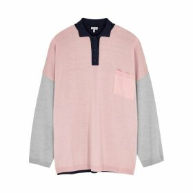 Loewe Colour-blocked Wool Jumper