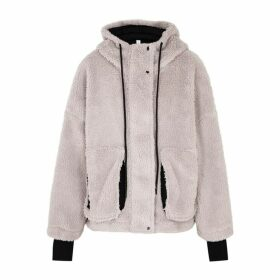 Varley Montalvo Lilac Faux Shearling Jacket