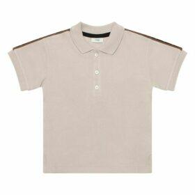 Fendi Baby Cotton Polo Shirt