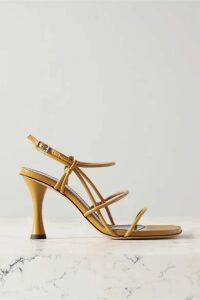 Proenza Schouler - Leather Sandals - Saffron