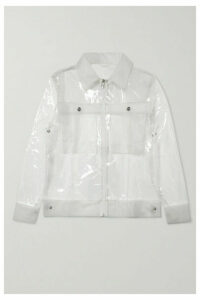 Rains - Glossed-tpu Jacket - Clear