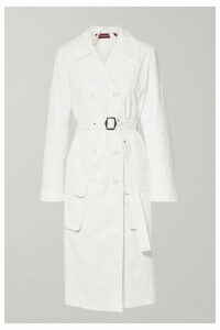 Sies Marjan - Nisa Crinkled-ripstop Trench Coat - White