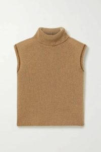 The Row - Giselle Cashmere Turtleneck Sweater - Brown