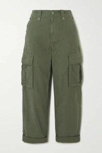 Ksubi - Interlude Cotton Cargo Pants - Green