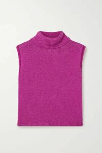 The Row - Giselle Cashmere Turtleneck Sweater - Fuchsia