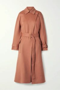 Loro Piana - Belted Cashmere Trench Coat - Antique rose