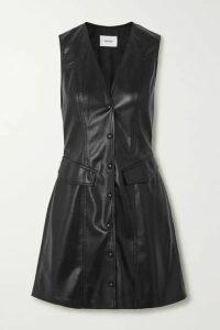 Nanushka - Menphi Vegan Leather Mini Dress - Black