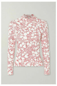 Marysia - Swamis Floral-print Rash Guard - White