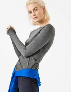 GOODMOVE Merinotec Base Layer Long Sleeve Top
