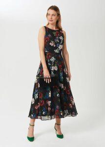 Cydney Cashmere Sweater Navy Green