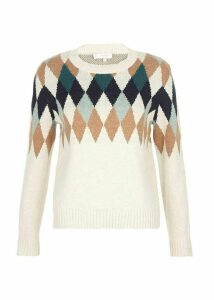 Lupin Sweater Ivory Multi