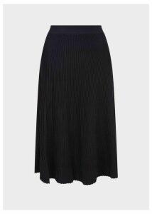 Ana Knitted Skirt Navy