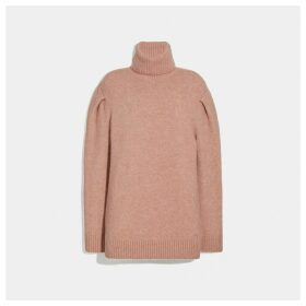 Coach Statement Sleeve Turtleneck