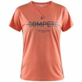 Craft  Eaze  women's T shirt in Orange