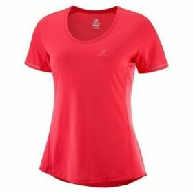Salomon  Agile  women's T shirt in Red