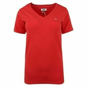 Tommy Hilfiger  DW0DW06320667  women's T shirt in Red