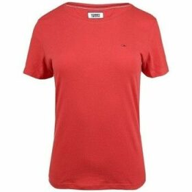 Tommy Hilfiger  DW0DW05938667  women's T shirt in Red
