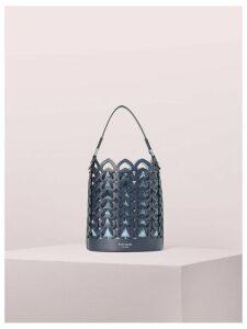 Dorie Small Bucket Bag - Blazer Blue - One Size