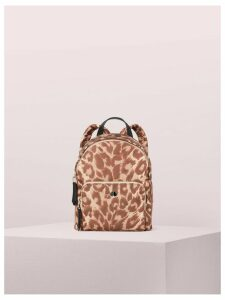 Taylor Leopard Small Backpack - Natural Multi - One Size