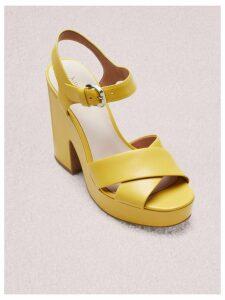 Grace Platform Sandals - Marigold - 4.5 (Us 7)