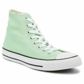 Converse  Chuck Taylor All Star Light Green Hi Trainers  women's Shoes (High-top Trainers) in Green